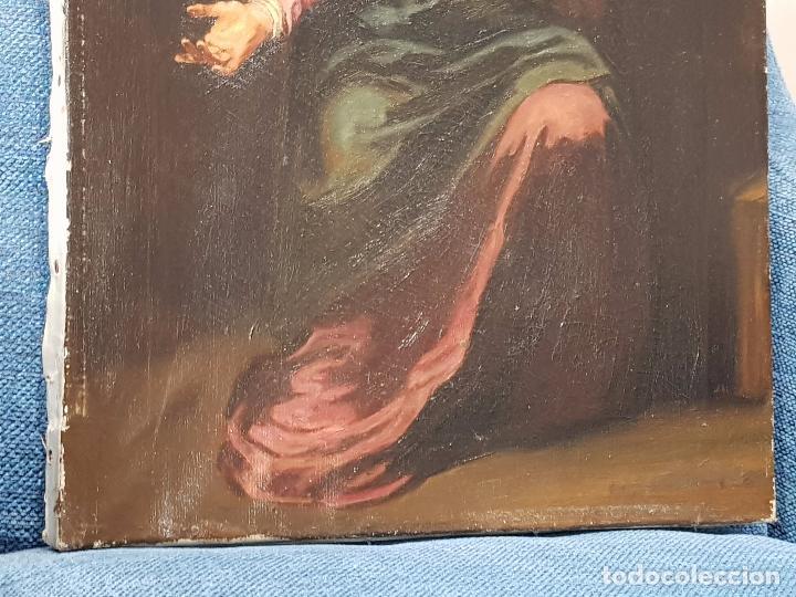 Arte: Copia antigua de la Dolorosa de Murillo - Foto 4 - 98811567