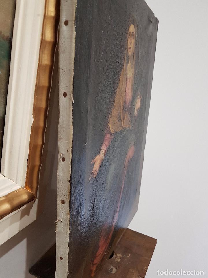 Arte: Copia antigua de la Dolorosa de Murillo - Foto 5 - 98811567