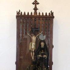 Arte: HORNACINA CON VIRGEN DE LA PIEDAD. CAP I POTA. Lote 99639099