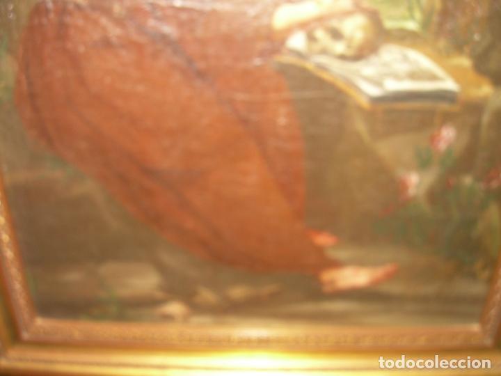 Arte: OLEO SOBRE LIENZO ANONIMO SIGLO XVIII..... SAN FRANCISCO ESCUELA ESPAÑOLA - Foto 12 - 99668423