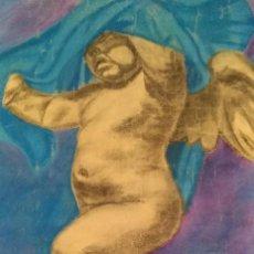 Arte: ANGELOTE, DIBUJO ACADÉMICO A CERAS. AÑOS 20.. Lote 99770891