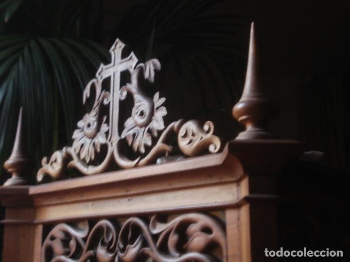 Arte: MAGNIFICA HORNACINA CON PIEDAD SELLADA DE EL ARTE CRISTIANO - Foto 17 - 99747175