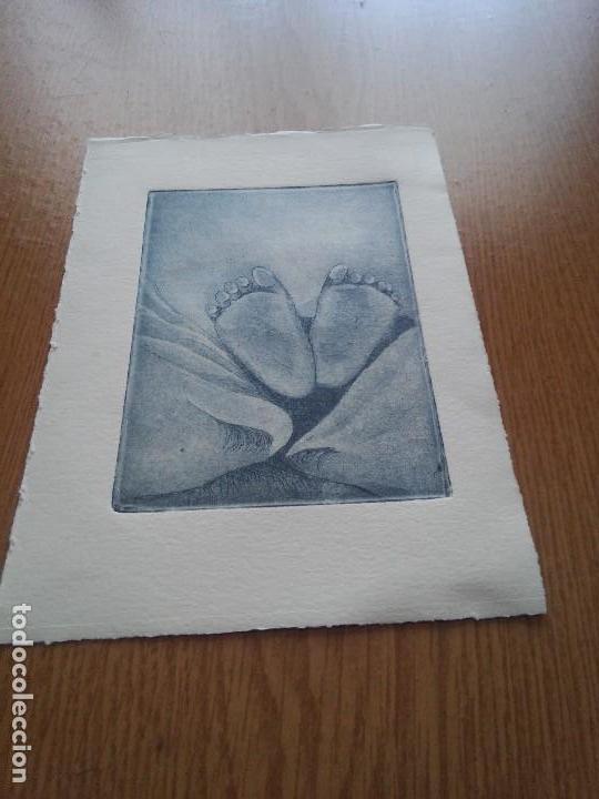 GRABADO ORIGINAL - PLANTA PIES (Arte - Arte Religioso - Grabados)