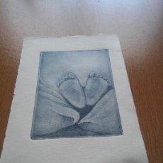 Arte: GRABADO ORIGINAL - PLANTA PIES. Lote 99850995