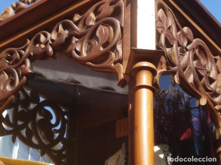 Arte: MAGNIFICA HORNACINA CON PIEDAD SELLADA DE EL ARTE CRISTIANO - Foto 22 - 99747175