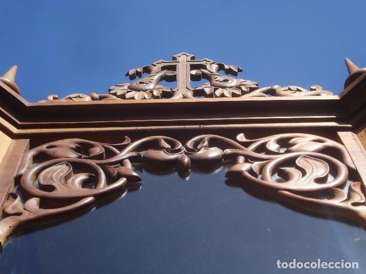 Arte: MAGNIFICA HORNACINA CON PIEDAD SELLADA DE EL ARTE CRISTIANO - Foto 27 - 99747175