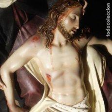 Arte: MAGNIFICA HORNACINA CON PIEDAD SELLADA DE EL ARTE CRISTIANO. Lote 99867707