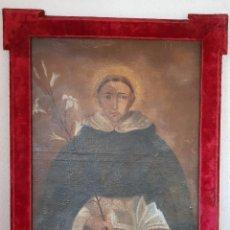 Arte: ÓLEO SANTO DOMINGO DE GUZMÁN SIGLO XVII. Lote 99890419