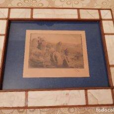 Arte: AGUAFUERTE CARLOS VERGER FIORETTI. 1909. Lote 99904567