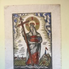 Arte: MANRESA- GRABADO - PABLO ROCA- SANTA ELENA. Lote 100037463