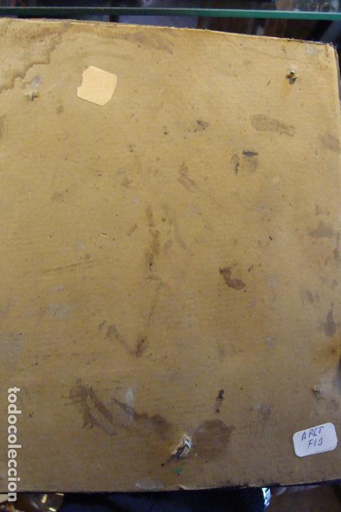 Arte: Relieve miniatura en pasta ebonizada. Siglo XIX. - Foto 3 - 100141079