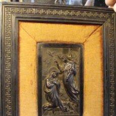 Arte: RELIEVE MINIATURA EN PASTA EBONIZADA. SIGLO XIX.. Lote 100141159