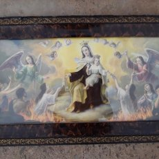 Arte: CUADRO ANTIGUO RELIGIOSO,COMPLETO.. Lote 100546535