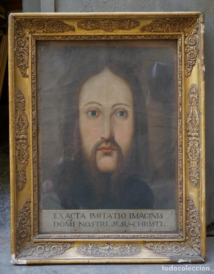 ANÓNIMO, RETRATO, S. XVIII, PINTURA AL ÓLEO. (Arte - Arte Religioso - Pintura Religiosa - Oleo)