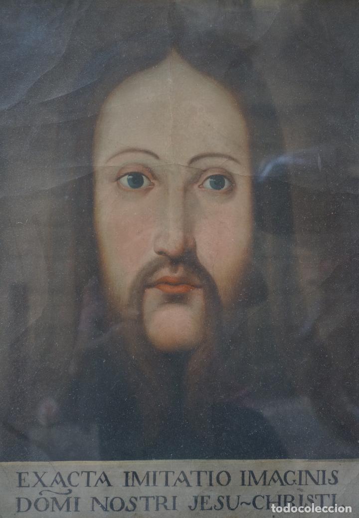 Arte: ANÓNIMO, RETRATO, S. XVIII, PINTURA AL ÓLEO. - Foto 2 - 100698423