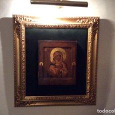 Arte: PRECIOSO ICONO MUY BIEN ENMARCADO,. Lote 100731675