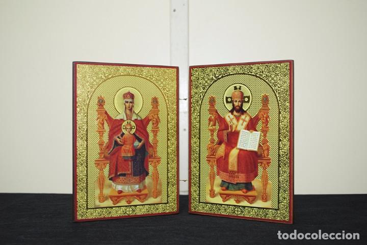 ICONO RELIGIOSO ANTIGUO ORTODOXO (Arte - Arte Religioso - Iconos)