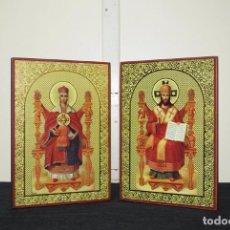Arte: ICONO RELIGIOSO ANTIGUO ORTODOXO. Lote 100921387