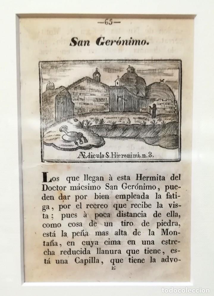 Arte: COLECCION 6 GRABADOS ORIGINALES,SIGLO XVIII,HERMITA MONTAÑA VIRGEN DE MONTSERRAT,CATALUÑA,MUY RAROS - Foto 4 - 100944539