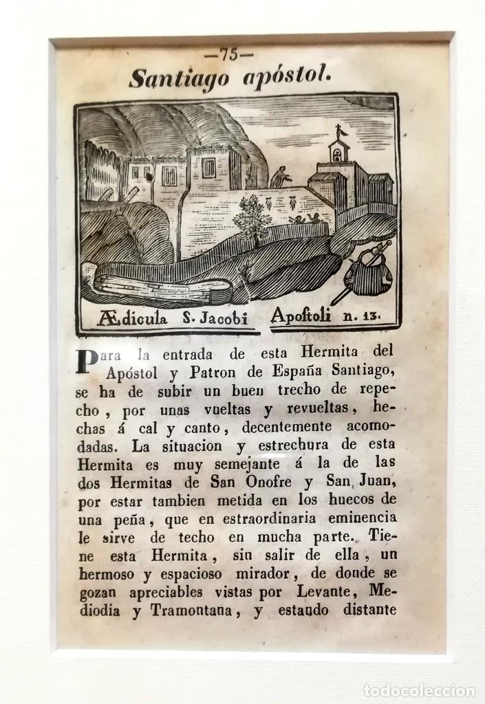 Arte: COLECCION 6 GRABADOS ORIGINALES,SIGLO XVIII,HERMITA MONTAÑA VIRGEN DE MONTSERRAT,CATALUÑA,MUY RAROS - Foto 5 - 100944539