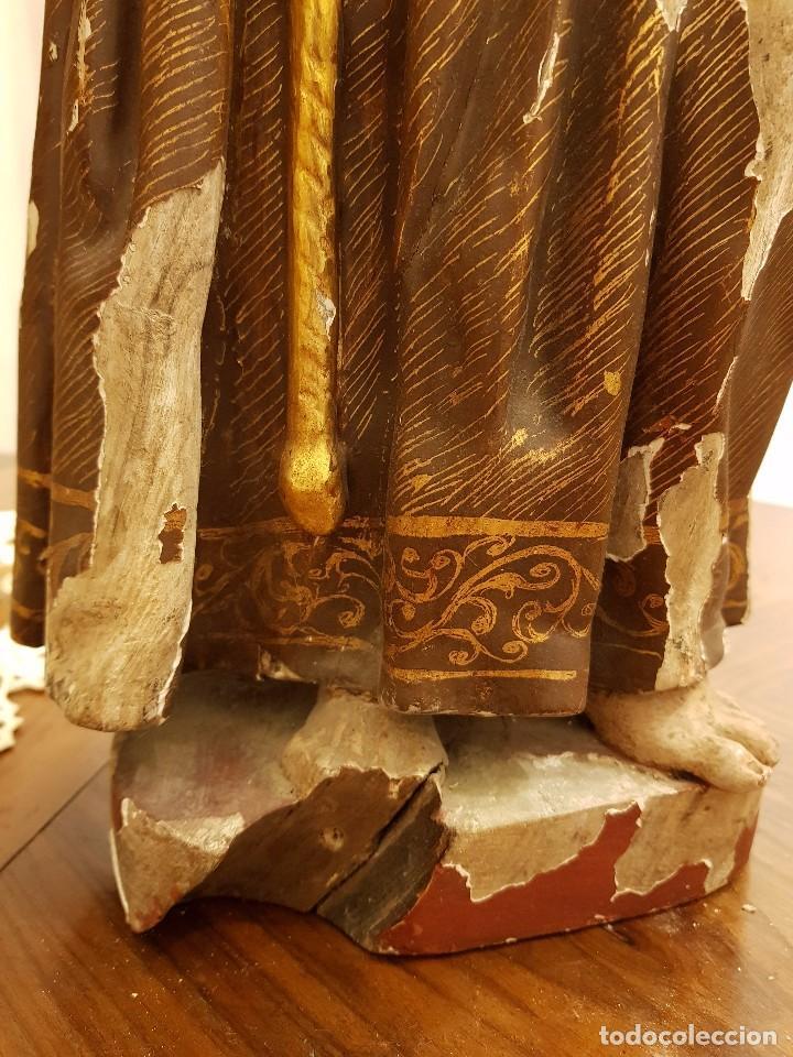 Arte: Talla madera San Francisco. Siglo XVI - Foto 9 - 101002091