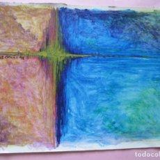 Arte: OBRA-CHAS OCAÑA-1998-SOBRE CARTÓN-BUEN ESTADO-VER FOTOS. Lote 101099623