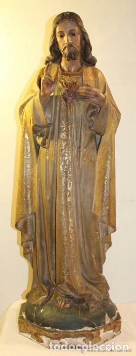 TALLA MADERA SIGLO XIX (Arte - Arte Religioso - Escultura)