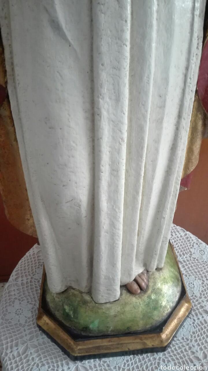Arte: Escultura Sagrado Corazón de Jesús - Gran Tamaño - - Foto 16 - 101383359