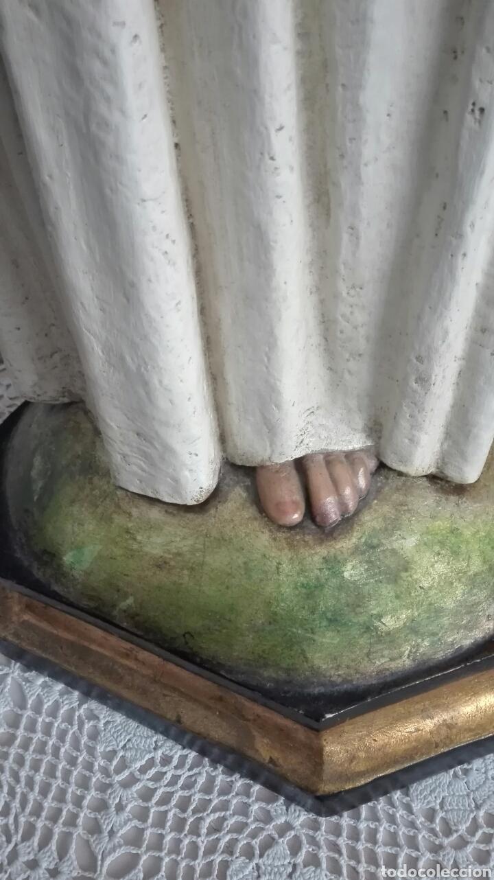 Arte: Escultura Sagrado Corazón de Jesús - Gran Tamaño - - Foto 17 - 101383359