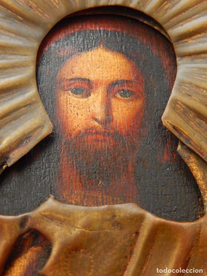 Arte: Pequeño icono ruso. Siglo XIX. - Foto 4 - 101393075
