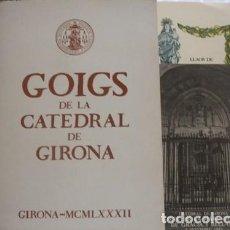 Art: GOIGS DE LA CATEDRAL DE GIRONA - PORTAL DEL COL·LECCIONISTA . Lote 101542571