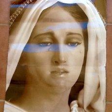 Arte: LAMINA GRANDE.VIRGEN LLORANDO. . ENVIO INCLUIDO.. Lote 101603871