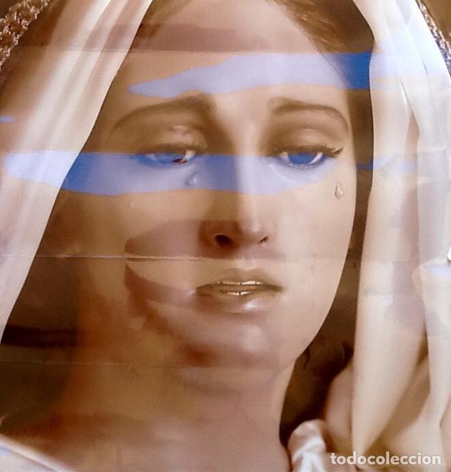 Arte: LAMINA GRANDE.VIRGEN LLORANDO. . ENVIO INCLUIDO. - Foto 2 - 101603871