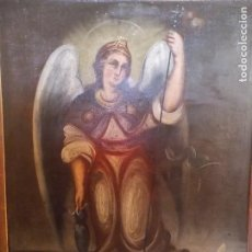 Arte: OLEO SOBRE LIENZO RELIGIOSO SAN GABRIEL. Lote 101634031