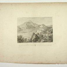 Arte: CHELVES, CHELVA, PROV. DE VALENCIA, ACUEDUCTO. GRABADO PRINCIPIOS S.XIX. 40X54 CM.. Lote 101903239