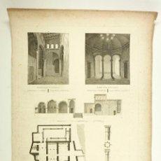 Arte: BAÑOS ÁRABES DE VALENCIA, GRABADO PRINCIPIOS S.XIX. TAMAÑO PAPEL: 40X54 CM.. Lote 101926723