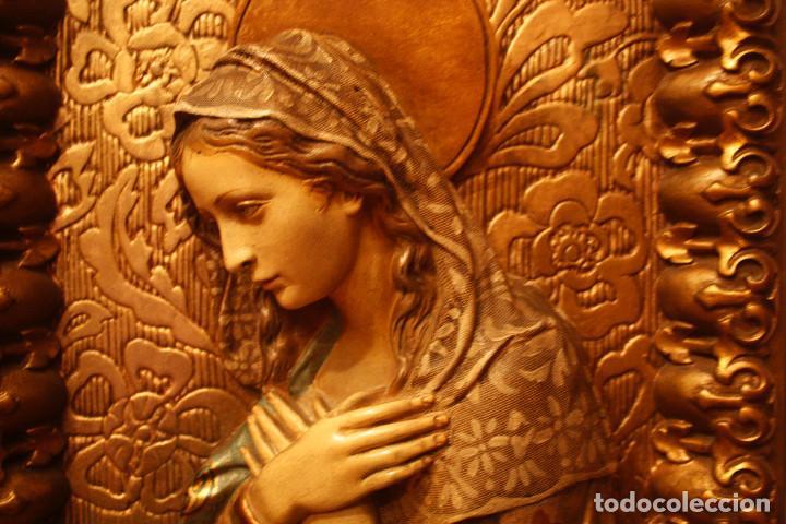 Arte: Retablo con la imagen de la virgen - Foto 7 - 102065131
