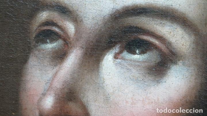 Arte: PRECIOSO SAN FRANCISCO JAVIER. OLEO S/ LIENZO. SIGLO XVII. MARCO EPOCA. ESCUELA ESPAÑOLA - Foto 4 - 102369067