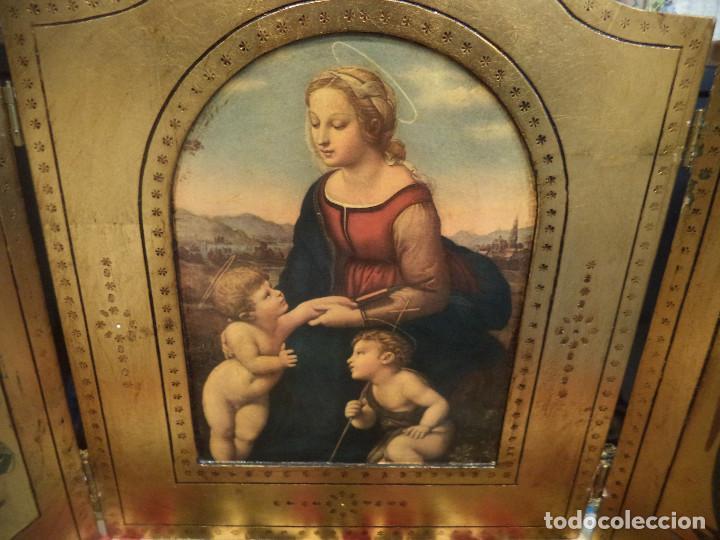 Arte: Triptico siglo xx reproduccion arte renacimiento - Foto 4 - 102477839