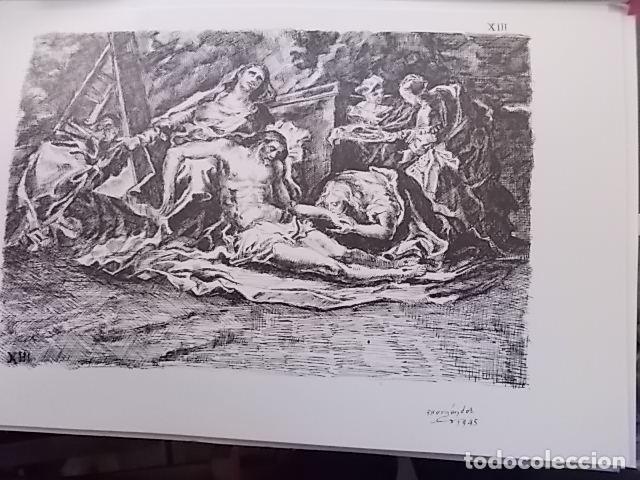 PACO HERNANDEZ VIA CRUCIS / PARROQUIA DE TRAPICHE / VELEZ MALAGA 1945 (Arte - Arte Religioso - Pintura Religiosa - Oleo)