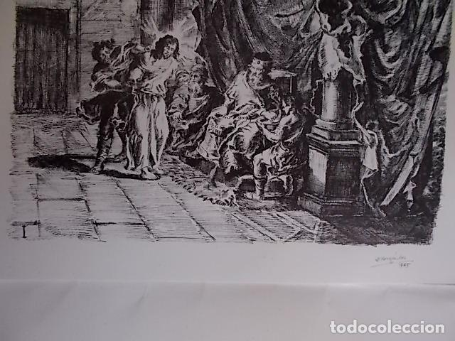 Arte: PACO HERNANDEZ VIA CRUCIS / PARROQUIA DE TRAPICHE / VELEZ MALAGA 1945 - Foto 2 - 102734003
