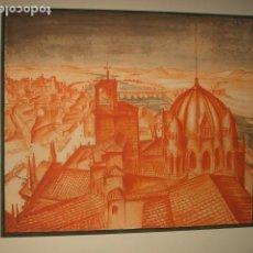 Arte: ZAMORA VISTA LITOGRAFIA 1932 SERGE ROVINSKY . Lote 102778647