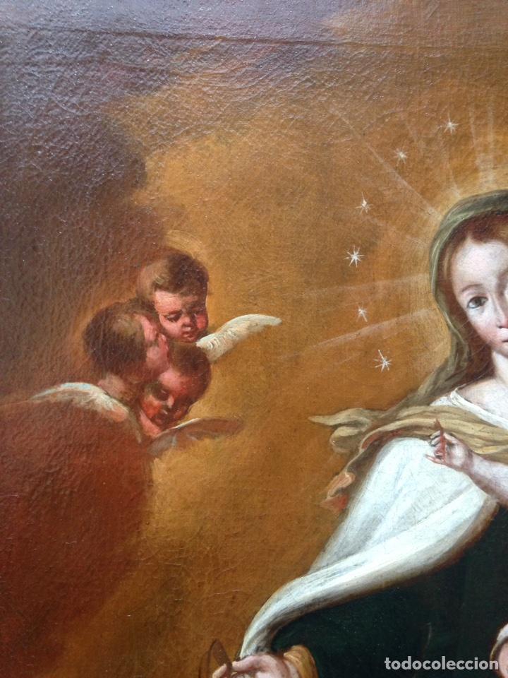 Arte: Virgen del Carmen Siglo XIX, óleo - Foto 10 - 102864040