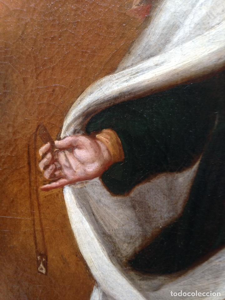 Arte: Virgen del Carmen Siglo XIX, óleo - Foto 11 - 102864040