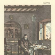Arte: MONTSERRAT, INTERIOR DE UNA ERMITA, (DE UN GRABADO DE LONDRES, 1808). Lote 102974719