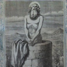 Arte: GRABADO DEL SIGLO XIX. SAN SIMEÓN STYLIA.. Lote 102987563