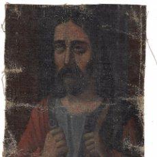 Arte: ANTIGUO OLEO DE 27.5 X 18.5 IMAGEN POR IDENTIFICAR. Lote 103693703