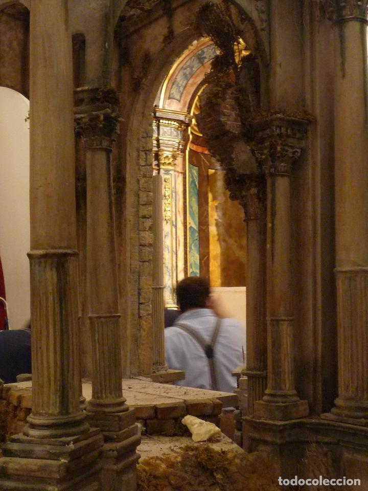 Arte: Nacimiento napolitano, precioso tabernaculo del s. XVIII para belen napolitano,Rebajado de 5000 eur - Foto 2 - 103977115
