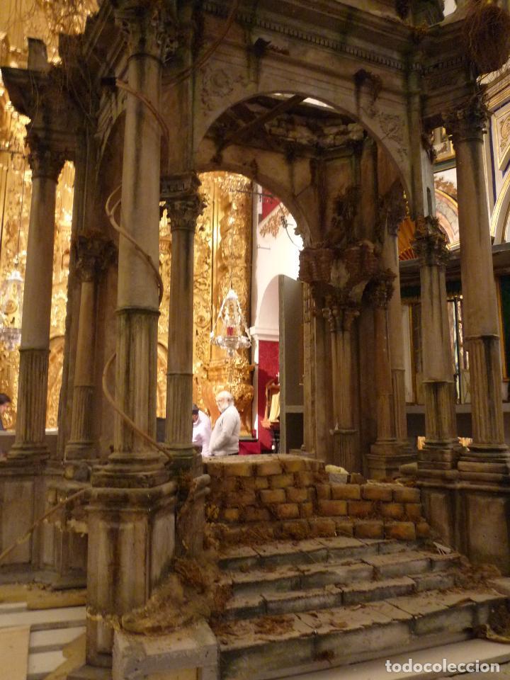 Arte: Nacimiento napolitano, precioso tabernaculo del s. XVIII para belen napolitano,Rebajado de 5000 eur - Foto 3 - 103977115