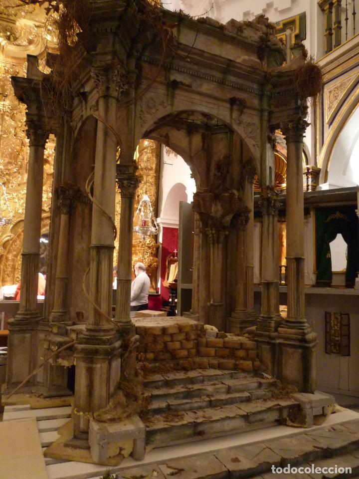 Arte: Nacimiento napolitano, precioso tabernaculo del s. XVIII para belen napolitano,Rebajado de 5000 eur - Foto 4 - 103977115
